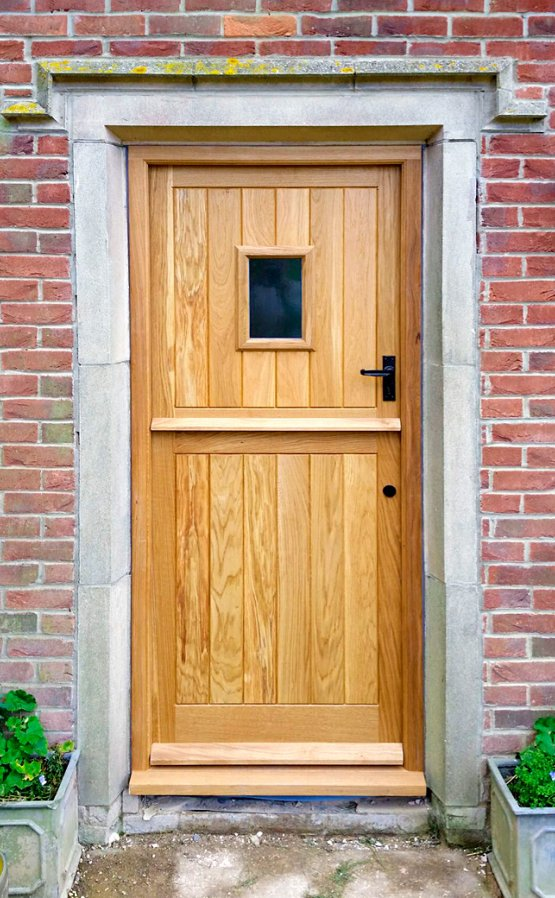 Oak stable door & frame
